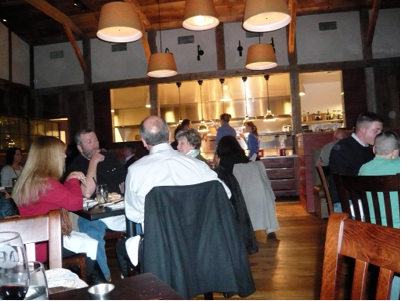 THE MAIN DINING AREA AT MARKET PLACE.