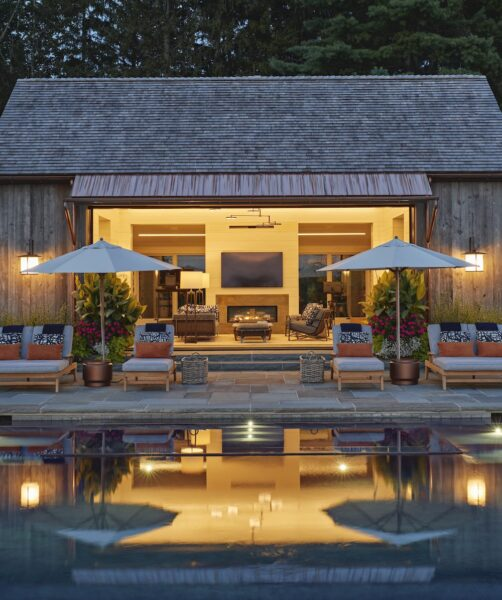 Haver pool house